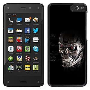 LECELL--Funda protectora / Cubierta / Piel For Amazon Fire Phone -- Cráneo del robot --