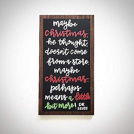 CELYCASY - Cartel de Madera para Navidad, con Texto en ...
