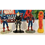 Marvel Avengers / Superhero Buildable Figure Set with the Hulk, Captain America and More!