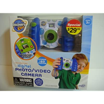 Discovery Kids Digital Photo/Video Camera: Toys & Games