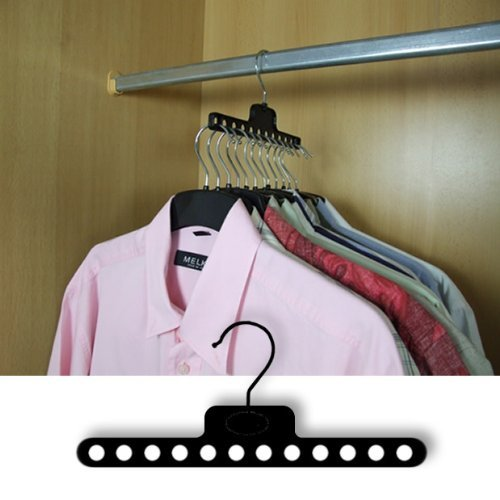 Hangerworld Plastic Saving Garment Hangers