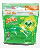 Gain Flings 3-in-1 Original Laundry Detergent 20 Pods - Child Guard Resealable Bag (Pack of 3)
