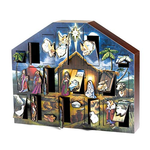 Byers' Choice Nativity Advent Calendar #AC05