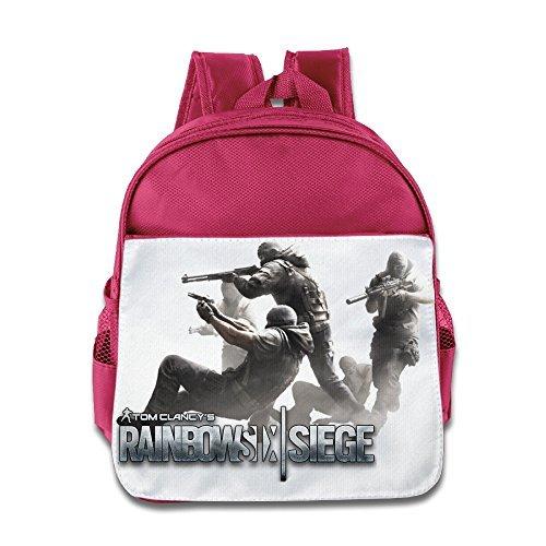 Price comparison product image MEGGE Tom Clancy's Rainbow Six Siege 7 Beautiful Zipper Bag Pink