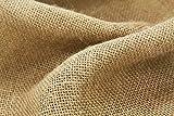 Burlap 7oz Untreated, Biodegradable, Brown (3' x 100')