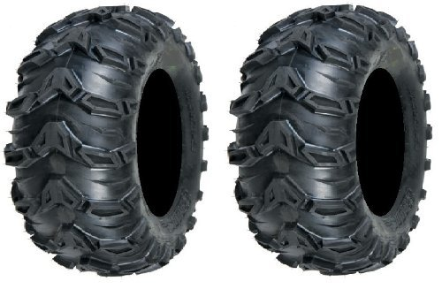 Pair Sedona Rebel 25x11 10 Tires