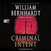 Criminal Intent | William Bernhardt