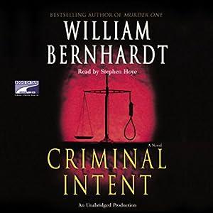 Criminal Intent Audiobook