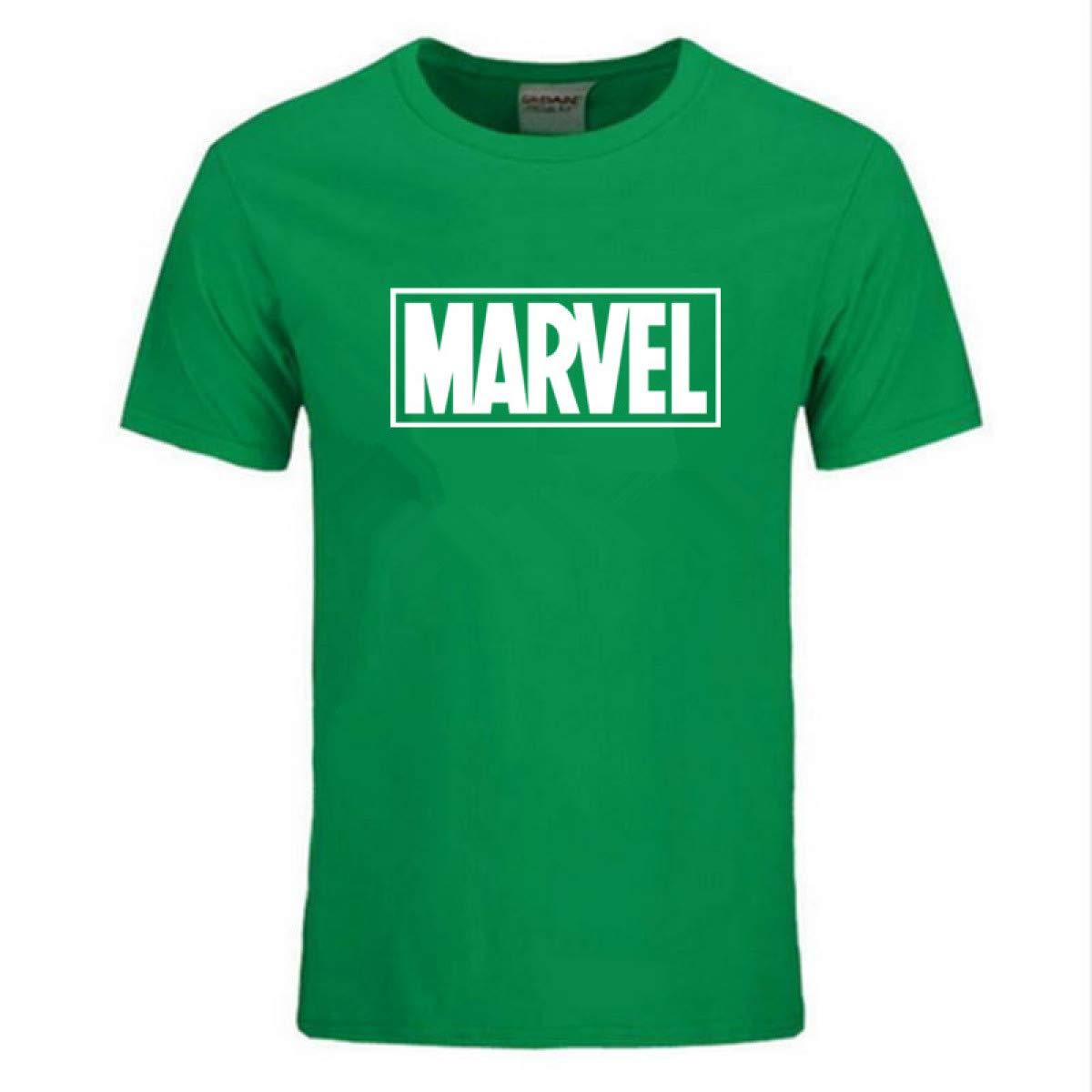 Short Sleeve T Shirt Superhero Print O Neck Comic 8539