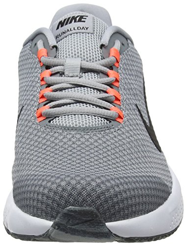 Nike Wolf Running Grigio Uomo Grey Cool Runallday Scarpe Black 015 Grey Hyper Orange rqSxnrA