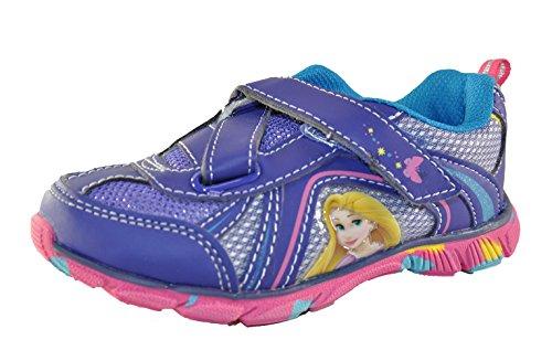 Disney Princess Little Girls Slip On Sneakers, Purple 11 -