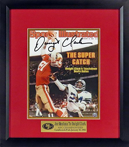 SF 49ers Dwight Clark Autographed