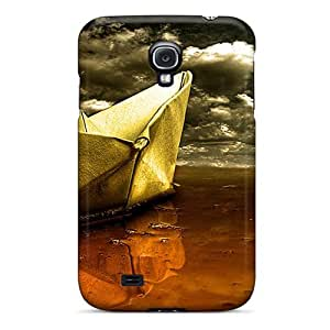 Mialisabblake Fashion Protective Paper Boat Case Cover For Galaxy S4