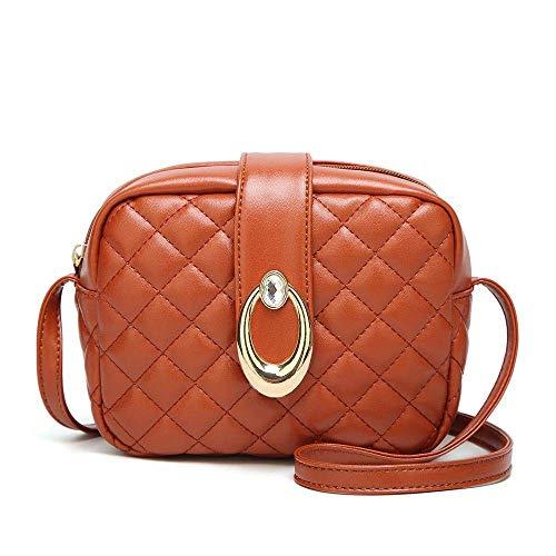 borsa di tracolla Meidi donne tracolla coreana a borsa a C colore moda Home C versione plaid a0xXxfw