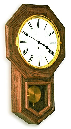 Build-Your-Own School House Clock Plan - American Furniture Design ()