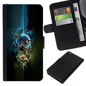 All Phone Most Case / Oferta Especial Cáscara Funda de cuero Monedero Cubierta de proteccion Caso / Wallet Case for HTC DESIRE 816 // Abstract Sci Fi Space Tree
