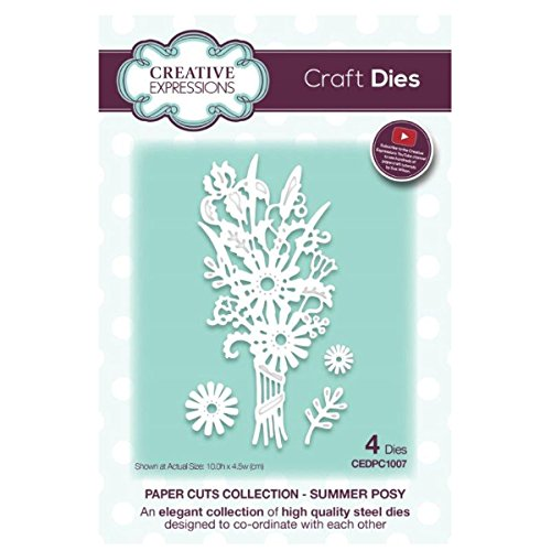 Creative Expressions CEDPC1007 Paper Cuts Craft Die - Summer Posy ()