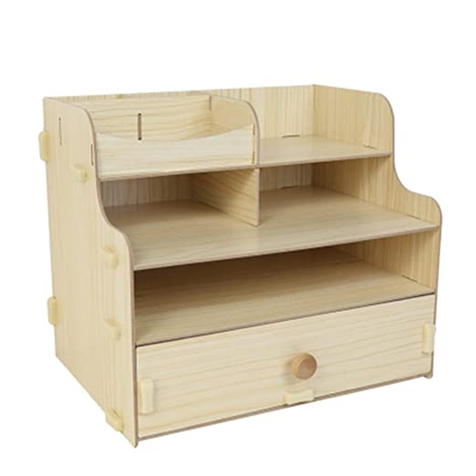 Organizador de Archivos de Mesa Escritorio de oficina de madera ...