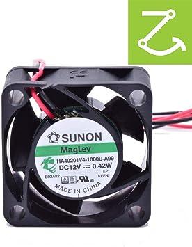 Sunon HA40201V4-1000U-A99 - Ventilador de coche (12 V, 40 x 40 x ...