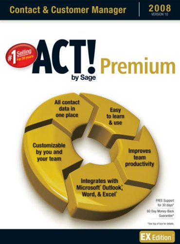 ACT! By Sage Premium 2008 10.0