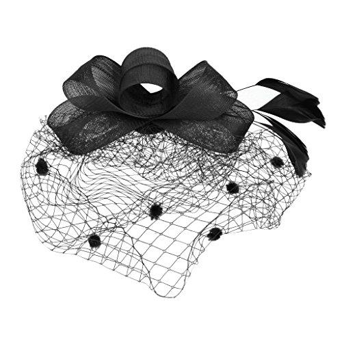 MagiDeal Wedding Fascinator Headpiece Headwear