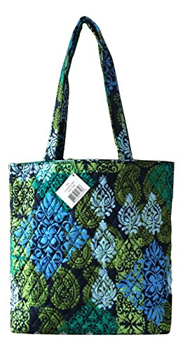 Interior Color Version Solid Sea Turtles Sea Interior with Caribbean Navy Vera Tote Bradley With Updated qawgg6I0