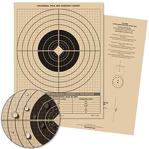 Rite in the Rain Weatherproof 25 Meter Target, 8 1/2