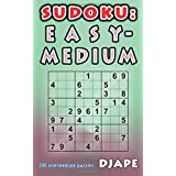 Sudoku: Easy - Medium: 200 intermediate puzzles
