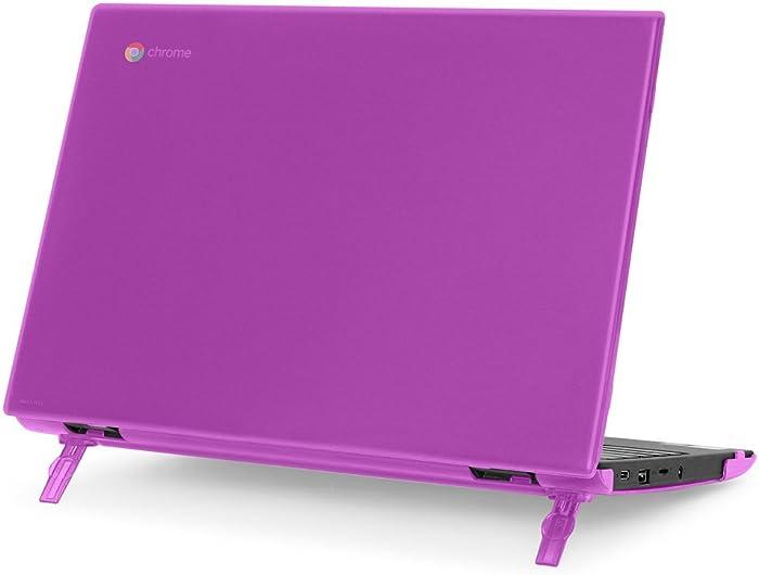 """mCover Hard Shell Case for 2018 11.6"""" Lenovo 100E Series Chromebook Laptop (NOT Fitting Lenovo 300E Windows & N21 / N22 / N23 / 300E / 500E / Flex 11 Chromebook) (C100E Purple)"""
