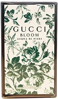 c7703ddc20 Amazon.com : Gucci Bloom Acqua di Fiori Eau de Toilette Spray, 3.3 Ounce :  Beauty