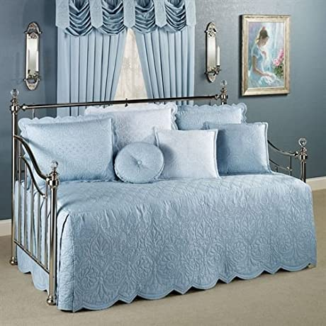 Evermore Powder Blue 4 Piece Daybed Set Daybed
