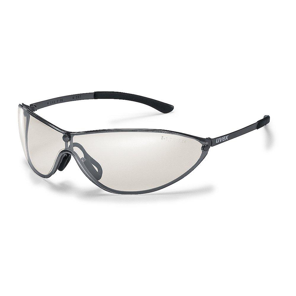 Uvex Arbeitsschutzbrille / Bü gelbrille 9153 racer MT, silberverspiegelt, Schutz: 5-1,7 Uvex Safety 9153881