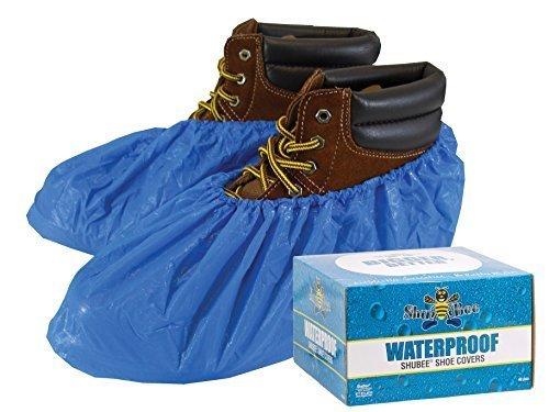 ShuBee® Waterproof Shoe Covers - Light Blue (40 Pair)