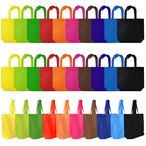 Wobe 40pcs Party Favor Gift Bags with Handles 13