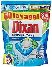 Dixan PowerCaps wasmiddel voor wasmachine, 60 wasbeurten, 900 g