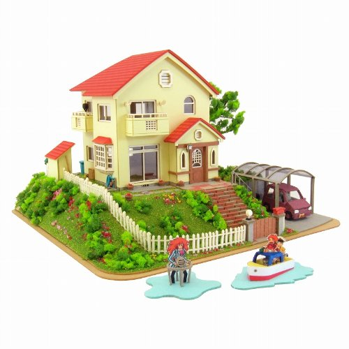 1/150 Sosuke Ponyo House Ponyo on a Cliff By the Sea Mk07-08 (japan import) Sankei