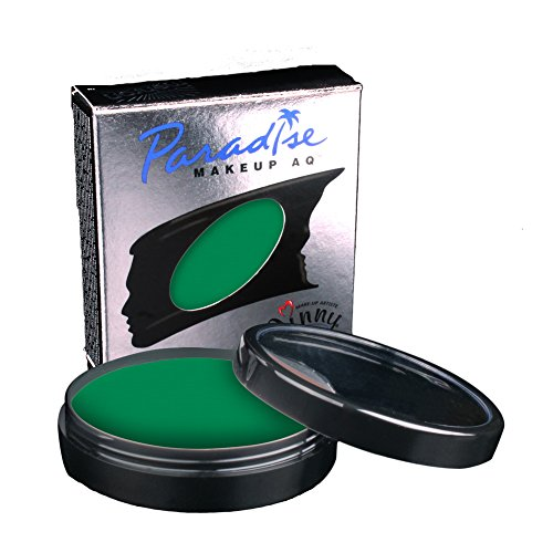 Loftus International Mehron Makeup Paradise AQ Face & Body Paint, Amazon Green: Tropical Series - 40Gm Novelty -