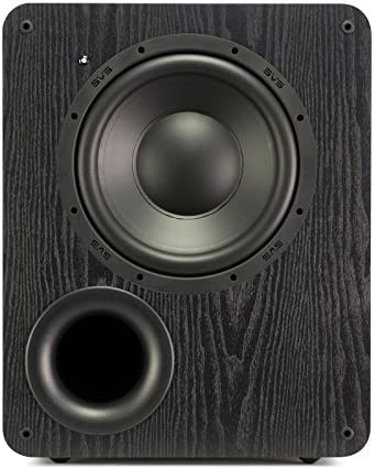 Dual SVS PB-1000 Subwoofers Black Ash 10-inch Driver, 300-Watts RMS, Ported Cabinet