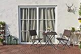 Grand patio Parma Rattan Patio Bistro Set, Weather
