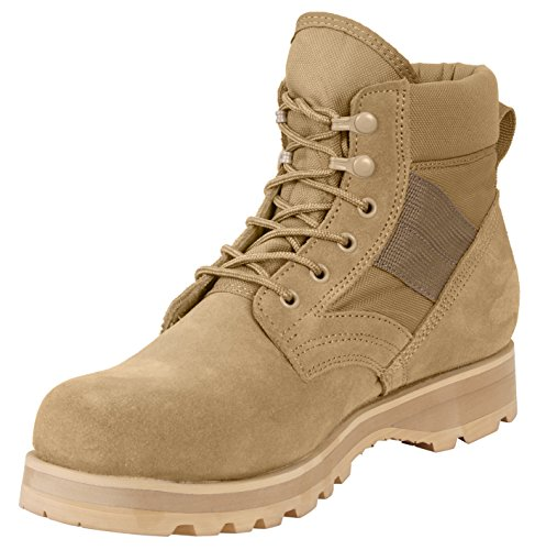 Rothco Military Combat Work Boot, 9 - Rothco Nylon Boot