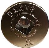Dante Products FP.GV.SN Satin Nickel Floor Plate  for Dante Globe Valve