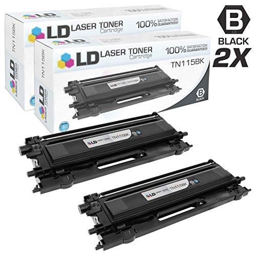 Dcp 9045cdn Laser Brother - LD © Compatible with Brother TN115BK Set of 2 Black Laser Toner Cartridges compatible with Brother: HL-4040CDN, MFC-9450CDN, HL-4070CDW, DCP-9045CDN, MFC-9840CDW, MFC-9440CN, HL-4040CN, DCP-9040CN Printers