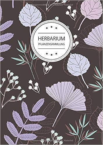 Herbarium Pflanzensammlung Herbarium Leer A4 Pflanzen