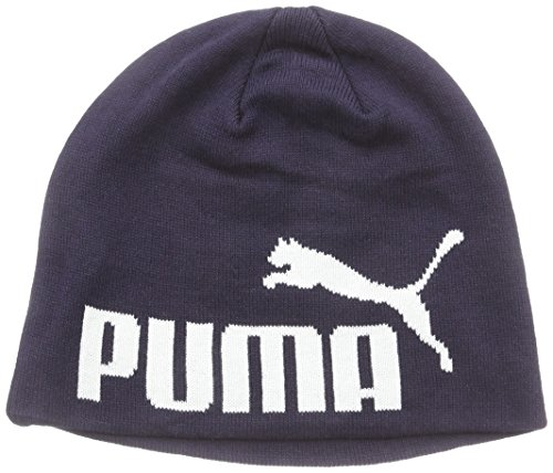 PUMA Herren Mütze Big Cat No 1 Logo Beanie, New Navy, One size, 834016 55