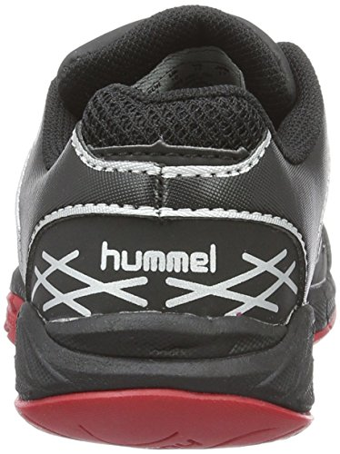 Hummel Omnicourt Z4 Jr, Zapatillas Deportivas Para Interior Unisex Niños Negro (Black)