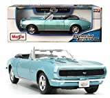 1967 camaro ss model - 1967 Chevrolet Camaro RS/SS 396 Red 1/18 Diecast Model Car By Maisto Blue by Maisto Special Edition