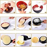 Simosho Electric Crepe Maker Mini Household Pancake