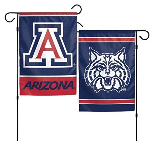 NCAA University of Arizona Wildcats 12x18 Inch Outdoor Garden Flag Banner ()