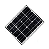 ALEKO SP50W12V 50 Watt 12 Volt Monocrystalline Solar Panel for Gate Opener Pool Garden Driveway Review