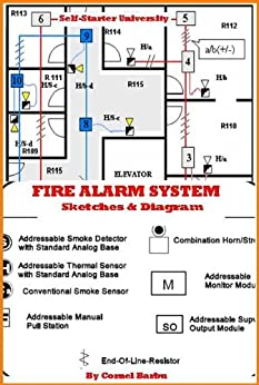 basic fire alarm wiring diagram fire alarm line diagram fire alarm system- diagrams (self-starter university book ... #6